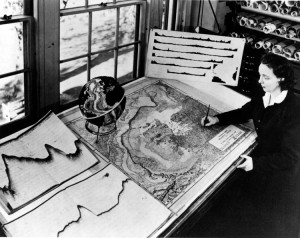 Marie Tharp 1961