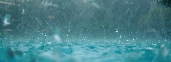 Heavy rain? It must be the monsoon. Or is it? (photo: Mathew Reeve)