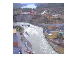 Flooding in Norway 2005