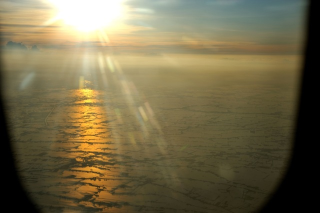 A view from a plane en route from Bangkok to Chiang Mai in October 2011 (Photograph by Mith Huang, shared under the Creative Common License on Flickr)