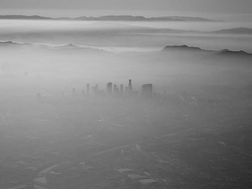 Smog over Los Angeles (photo: Robert Donovan)