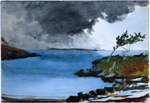 The Coming Storm – Winslow Homer, 1901, source: http://www.wikiart.org/en/winslow-homer/the-coming-storm